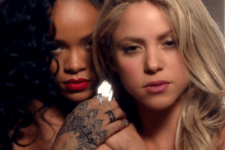 Shakira featuring Rihanna - Can't Remember To Forget You
