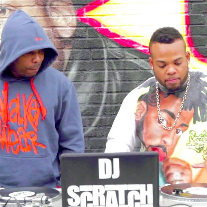 Watch Jam Master Jay's Son, TJ Mizell, Pay Tribute to His Father with DJ Scratch