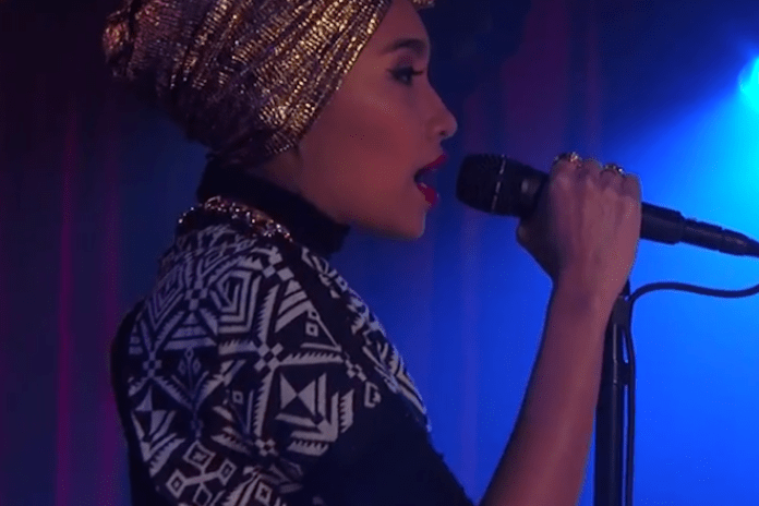 "Yuna Performs ""Falling"" & ""Rescue"" on Jimmy Kimmel Live"