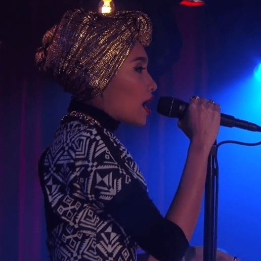 """Yuna Performs """"Falling"""" & """"Rescue"""" on Jimmy Kimmel Live"""