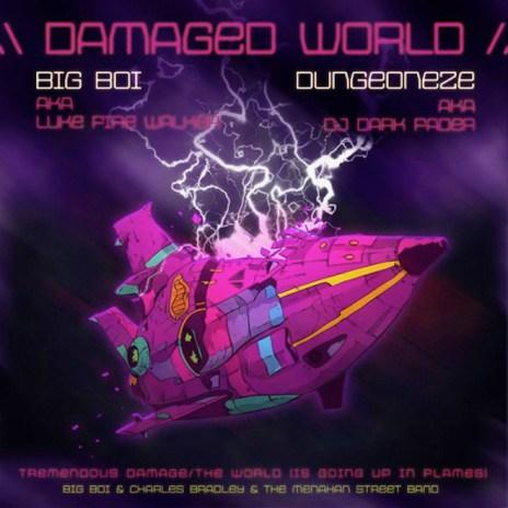 Big Boi featuring Menahan Band - Damaged World