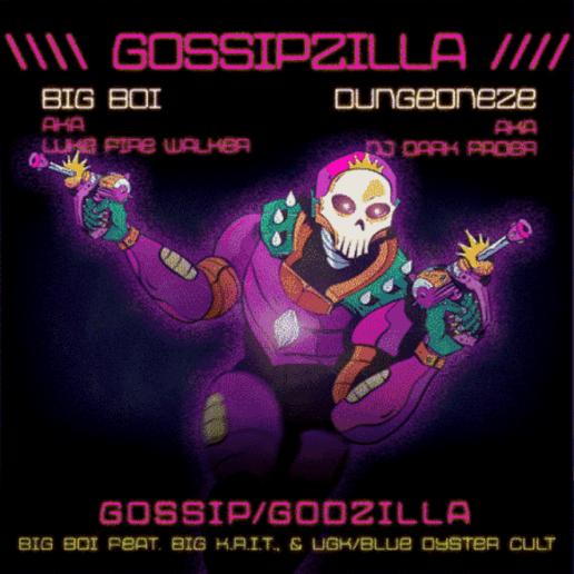 Big Boi featuring Big K.R.I.T. & UGK & Blue Oyster Cult - GossipZilla
