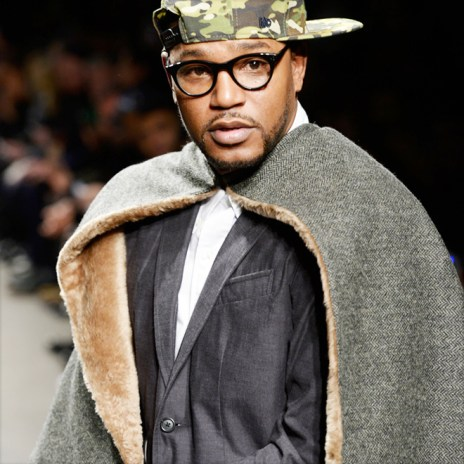 Cam'ron Reveals Dipset Cape Collection with Mark McNairy at NYFW