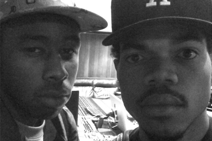 UPDATE: Chance The Rapper and Tyler, The Creator Pictured in Studio Together