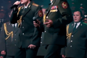 "Daft Punk's ""Get Lucky"" Performed by Russian Police Choir at Sochi Olympics Opening Ceremony"