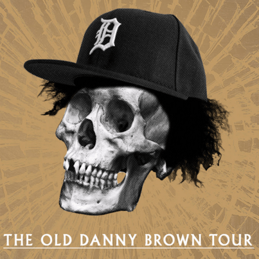"Danny Brown Announces ""The Old Danny Brown Tour"""