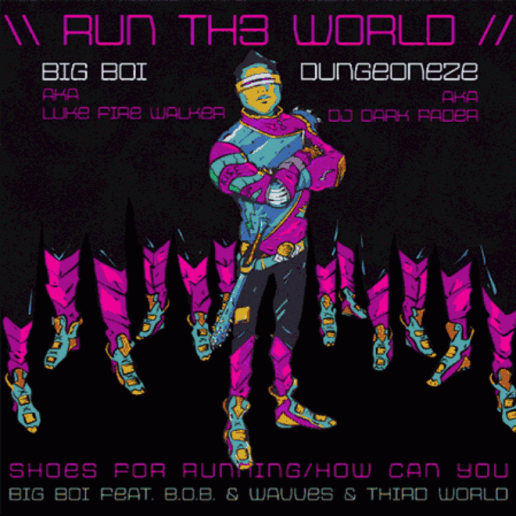 HYPETRAK Premiere: Big Boi featuring B.o.B. & Wavves & Third World - Run Th3 World
