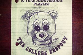 HYPETRAK's Kanye West 'College Dropout' 10 Year Anniversary Spotify Playlist