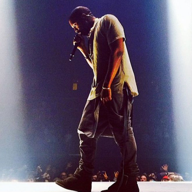 Kanye West Gets Back at Critics During Pennsylvania Show