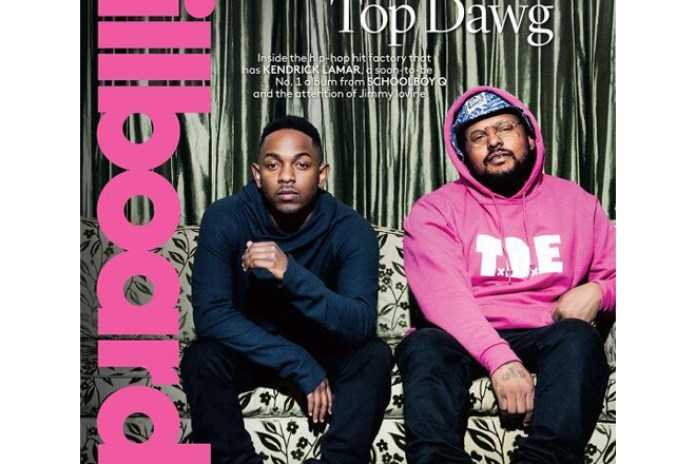 Kendrick Lamar and ScHoolboy Q Cover Next Issue of Billboard