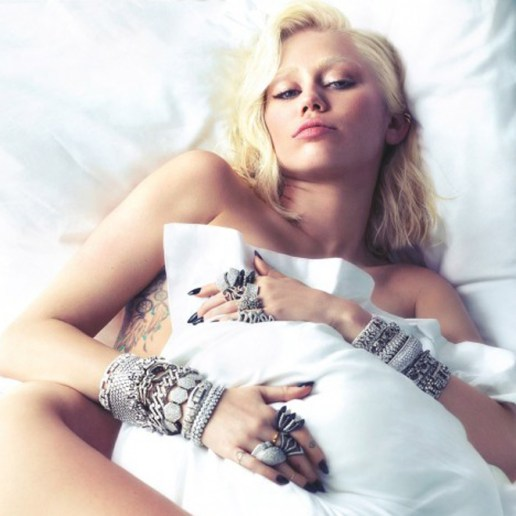 Miley Cyrus Bares All for W Magazine
