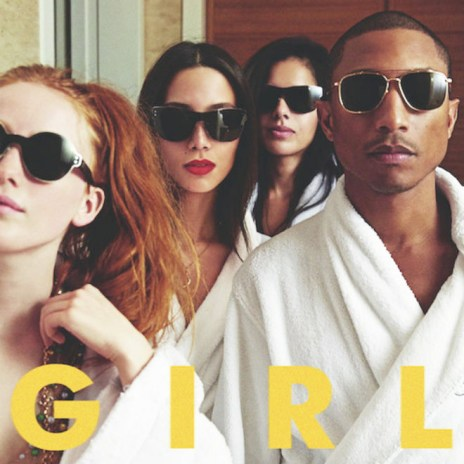 "Pharrell Defends His 'G  I  R  L' Album Cover: ""They Jumped The Gun"""