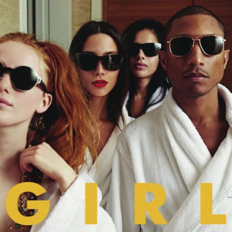 Pharrell - G I R L (Album Stream)