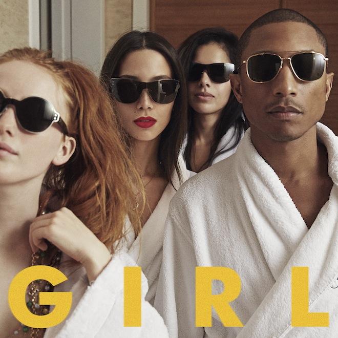 Pharrell's 'G I R L' Album to Feature Justin Timberlake, Daft Punk, Alicia Keys & Miley Cyrus