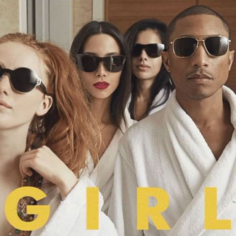 Pharrell Reveals 'G I R L' Album Artwork & Release Date