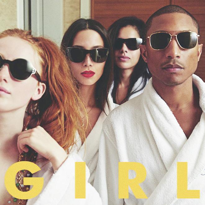 Pharrell Reveals 'G  I  R  L' Official Tracklist