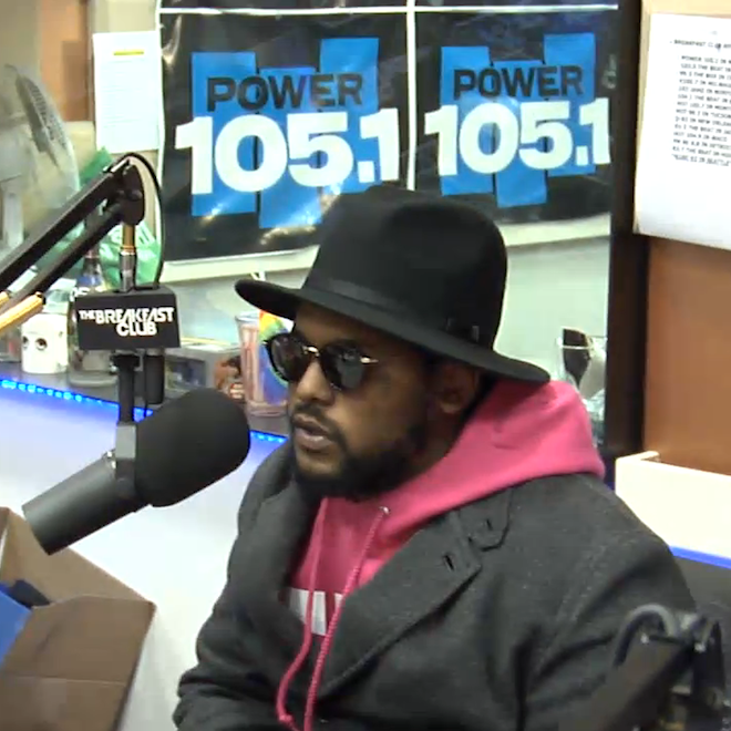 ScHoolboy Q On The Breakfast Club (Interview)
