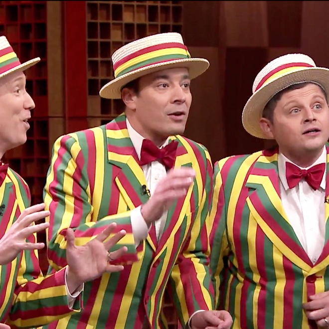 """Watch Jimmy Fallon Cover R Kelly's """"Ignition (Remix)"""" With Barbershop Quartet"""