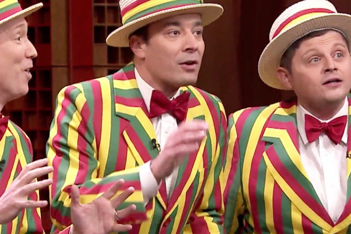 "Watch Jimmy Fallon Cover R Kelly's ""Ignition (Remix)"" With Barbershop Quartet"