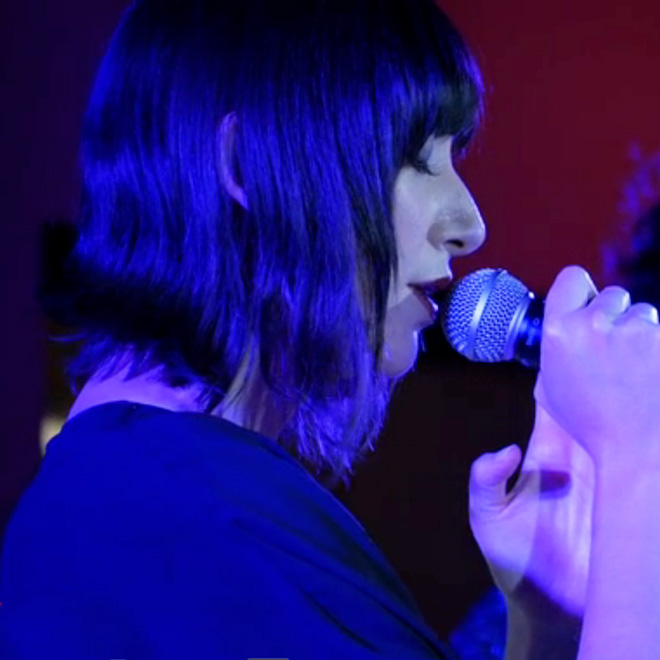 "Watch Karen O Perform ""The Moon Song"" Live at Oscar Nominees Party"
