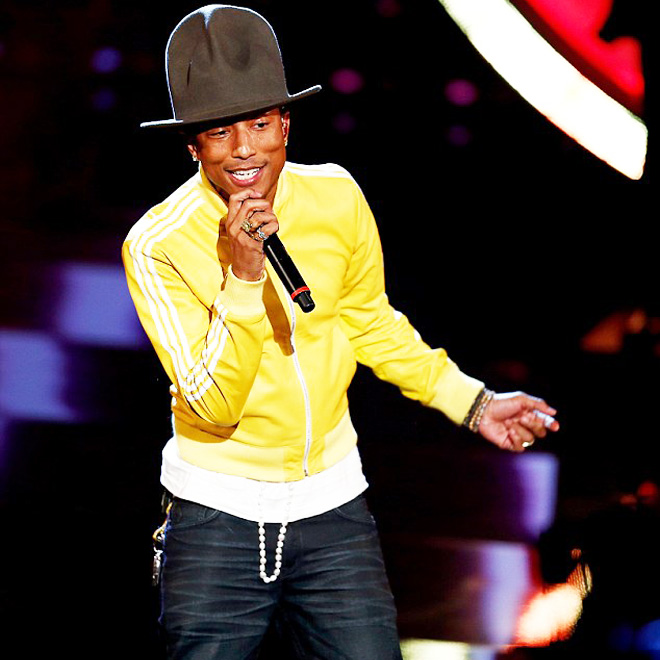 "Watch Pharrell Williams Perform ""Happy"" on Wetten, dass..?"