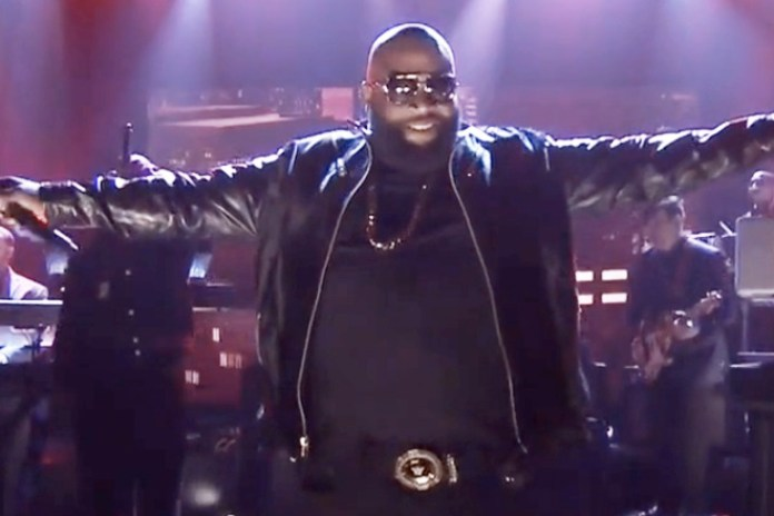 """Watch Rick Ross and The Roots Perform """"The Devil Is A Lie"""" on The Tonight Show"""