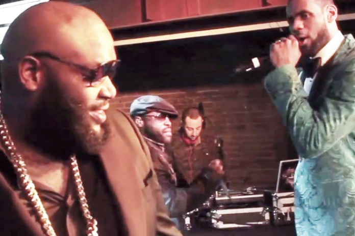 "Watch Rick Ross, The Roots and Lebron James Perform ""F*ckWithMeYouKnowIGotIt"" Live"