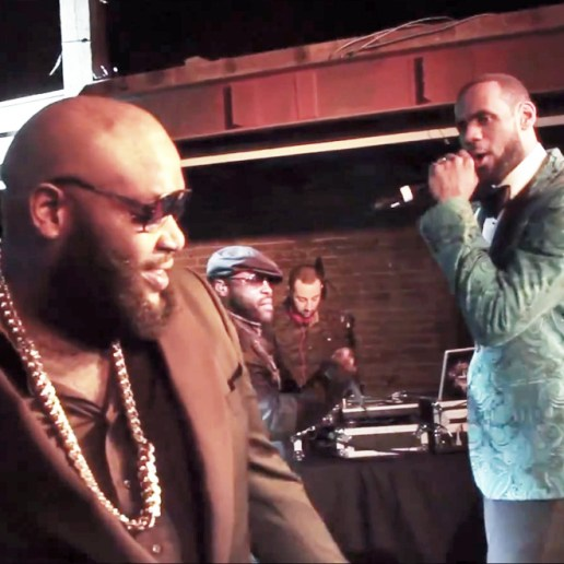 """Watch Rick Ross, The Roots and Lebron James Perform """"F*ckWithMeYouKnowIGotIt"""" Live"""