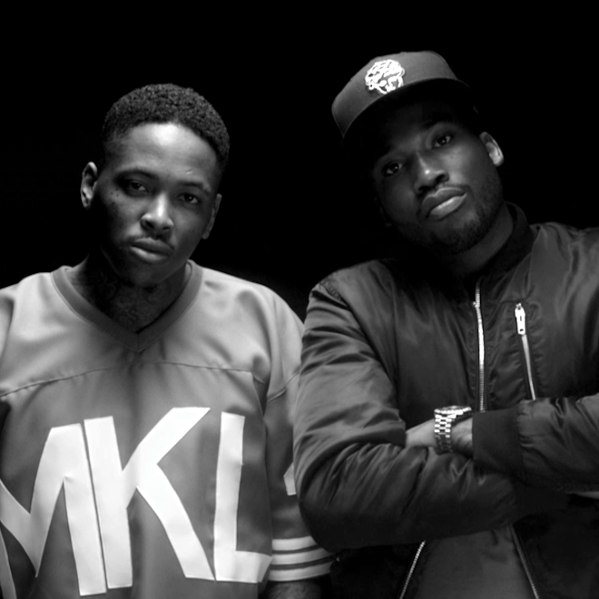 YG featuring Lil Wayne, Meek Mill, Rich Homie Quan & Nicki Minaj – My Ni**a (Produced by DJ Mustard)