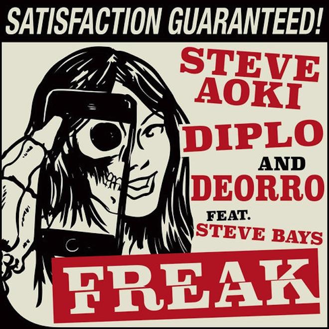 Steve Aoki, Diplo & Deorro featuring Steve Bays - Freak
