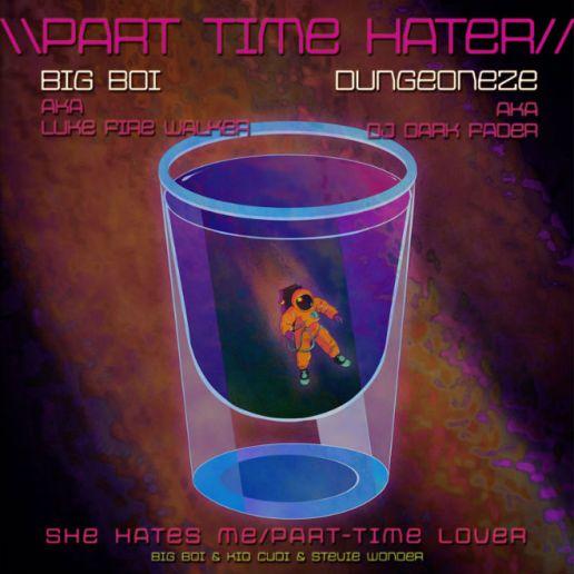 Big Boi featuring KiD CuDi & Stevie Wonder - Part Time Hater