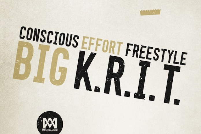 Big K.R.I.T. - Conscious Effort Freestyle