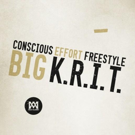Big K.R.I.T. - Conscious Effort Freestyle