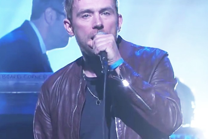 """Damon Albarn Performs """"Mr. Tembo"""" and """"Lonely Press Play"""" on Jimmy Kimmel Live!"""