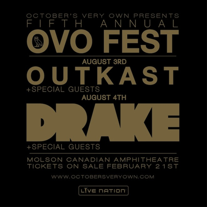 Drake's OVO Fest Will Receive $300,000 of Government Funding