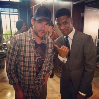 Check Out KiD CuDi on Set For The 'Entourage' Movie