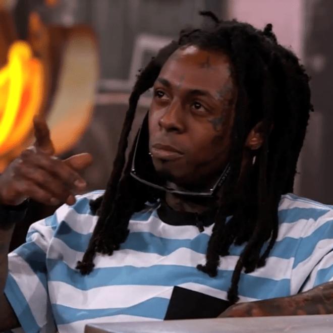 Lil Wayne Stops By 'Jimmy Kimmel Live!' at SXSW