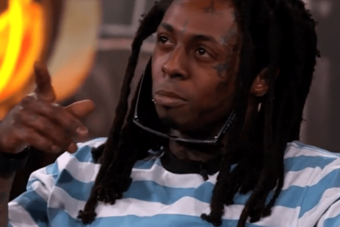 Lil Wayne Stops By 'Jimmy Kimmel Live!' at SXSW