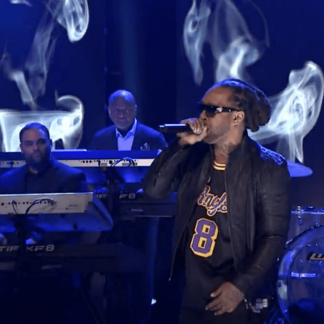 "Ty Dolla $ign & The Roots Perform ""Paranoid"" on 'The Tonight Show'"