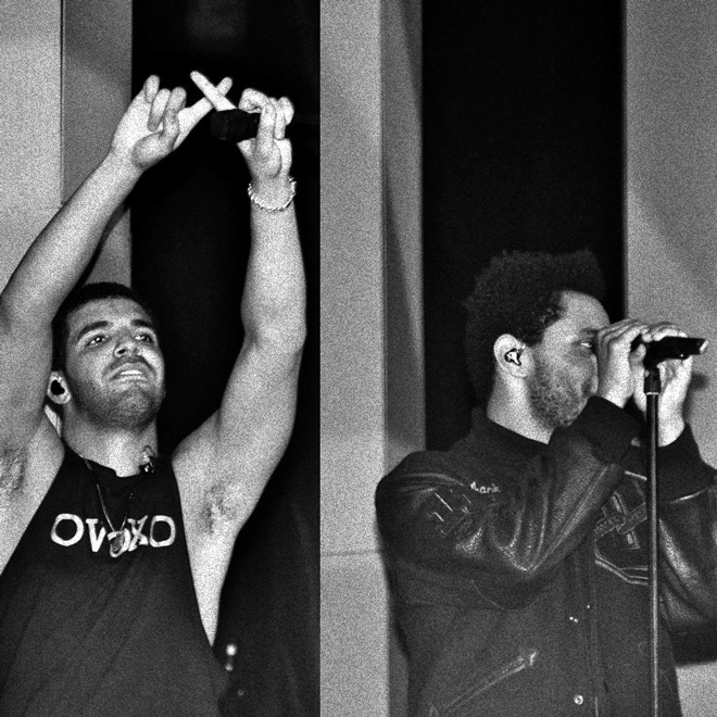 "Watch Drake And The Weeknd Perform ""Crew Love"" Live in London"