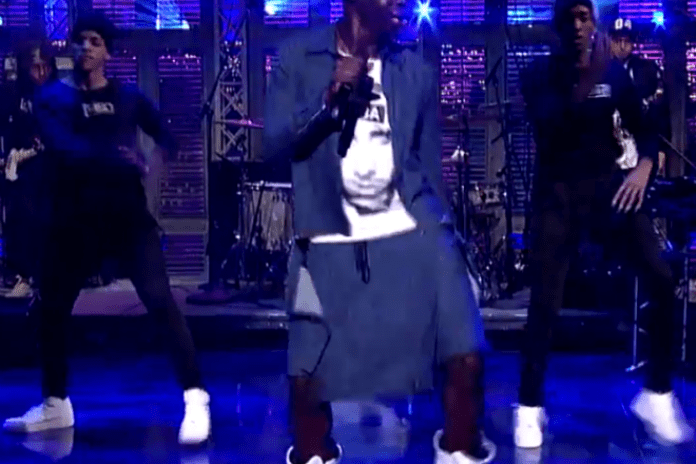 Watch Le1f Perform with Blood Orange on 'Letterman'