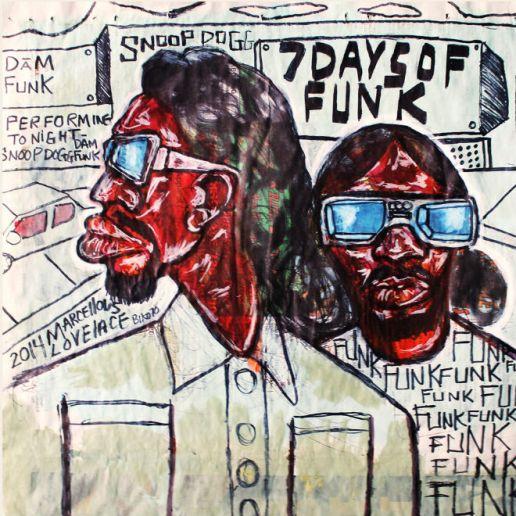 7 Days of Funk (Snoop Dogg & Dam-Funk) - Do My Thang (Teklife Remix)