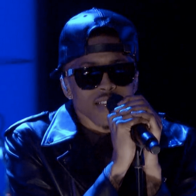 August Alsina Performs on Arsenio Hall