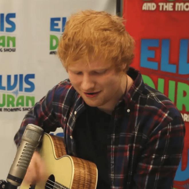 """Best Cover Yet? Ed Sheeran Takes on Beyoncé's """"Drunk In Love"""""""