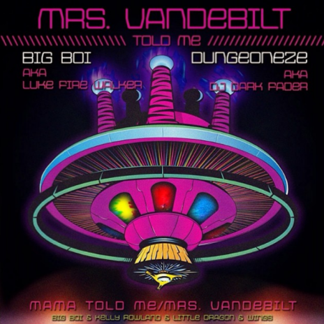 Big Boi featuring Wings, Kelly Rowland & Little Dragon - Mrs. Vandebilt
