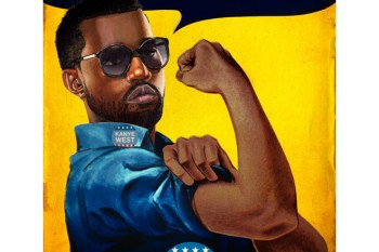 Artist Re-Imagines Vintage Posters With Kanye West, Jay Z, Pharrell Williams And More