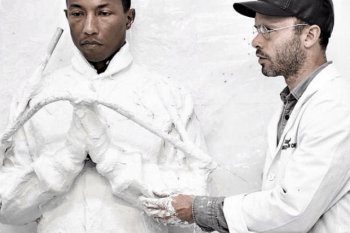 Daniel Arsham Unveils Full-Body Cast of Pharrell for Upcoming 'GIRL' Exhbition at Galerie Perrotin