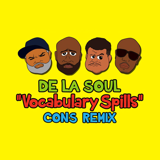 De La Soul featuring Consequence - Vocabulary Spills (Remix)