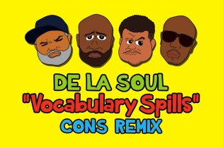 De La Soul featuring Consequence - Vocabulary Spills (Remix)
