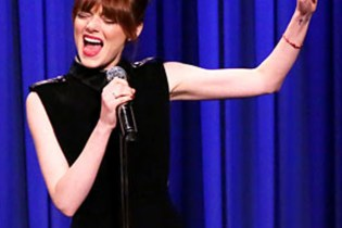 Watch Emma Stone and Jimmy Fallon Cover Iggy Azalea, DJ Khaled And More In Lip-Sync Battle